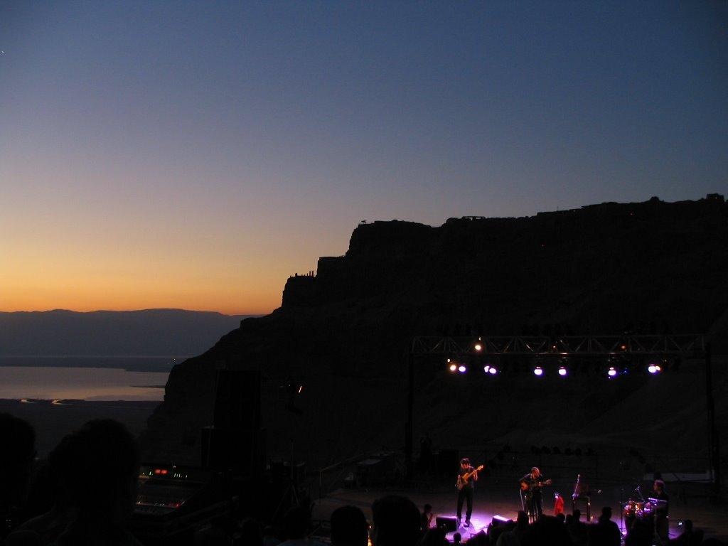David Broza sunrise concert