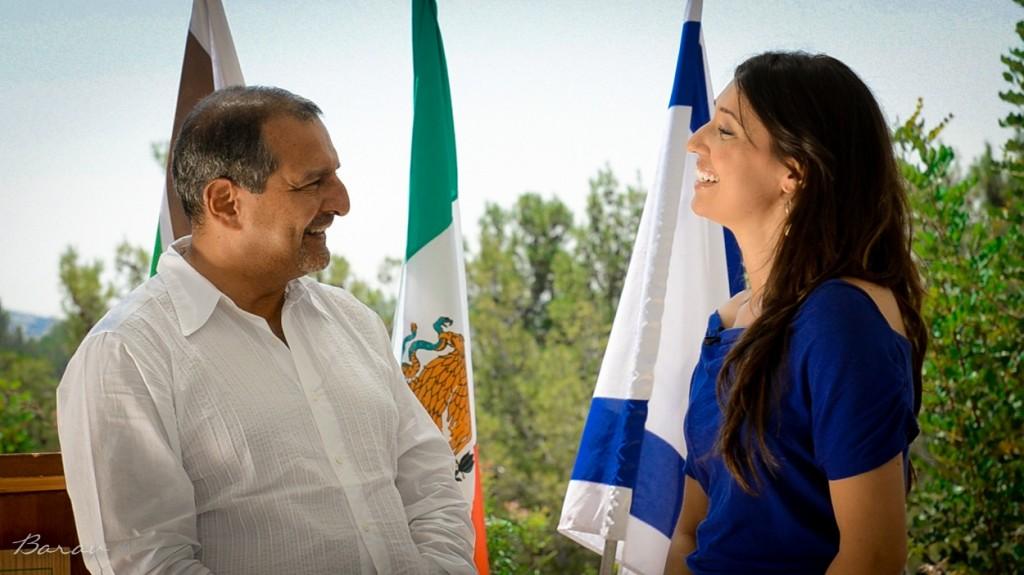 Entrevista con el Sr. Embajador de México en Israel, Federico Salas