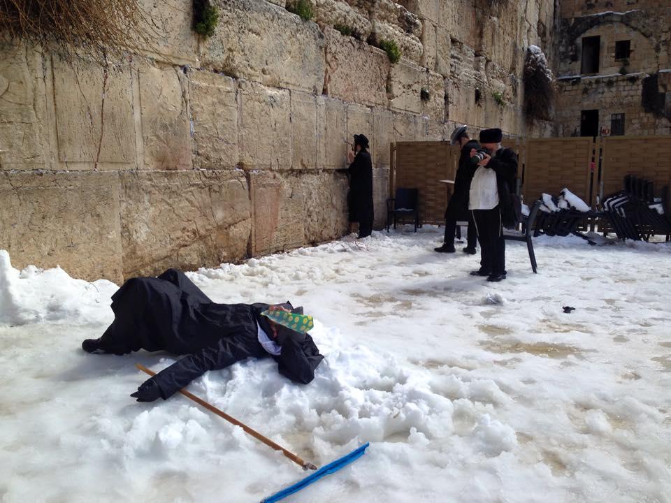 Momentos en el muro por Yehuda Chamorro