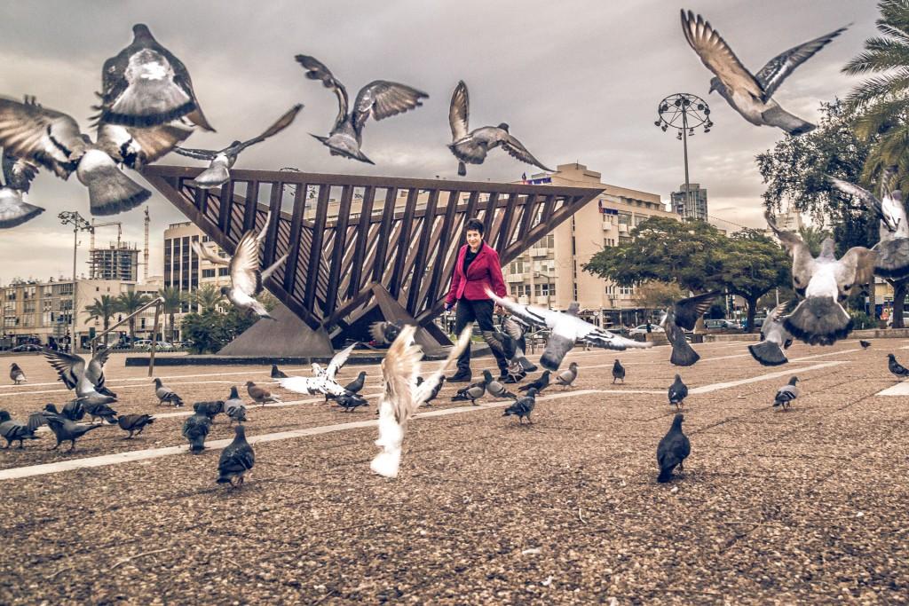 Fly, Tel Aviv por Basti Hansen