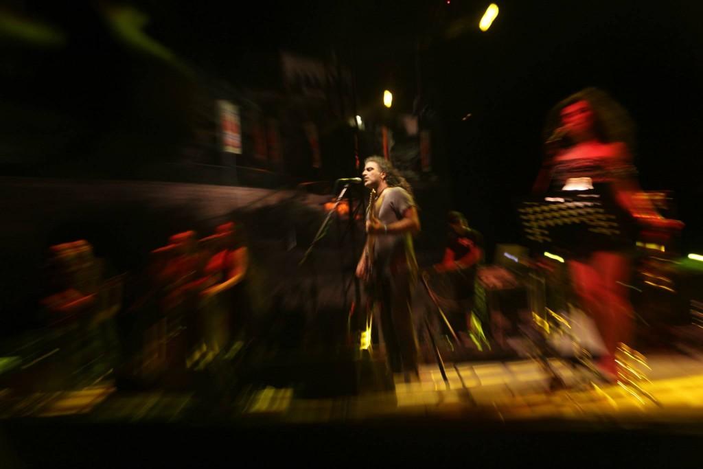 Mosh show por Yehuda Chamorro