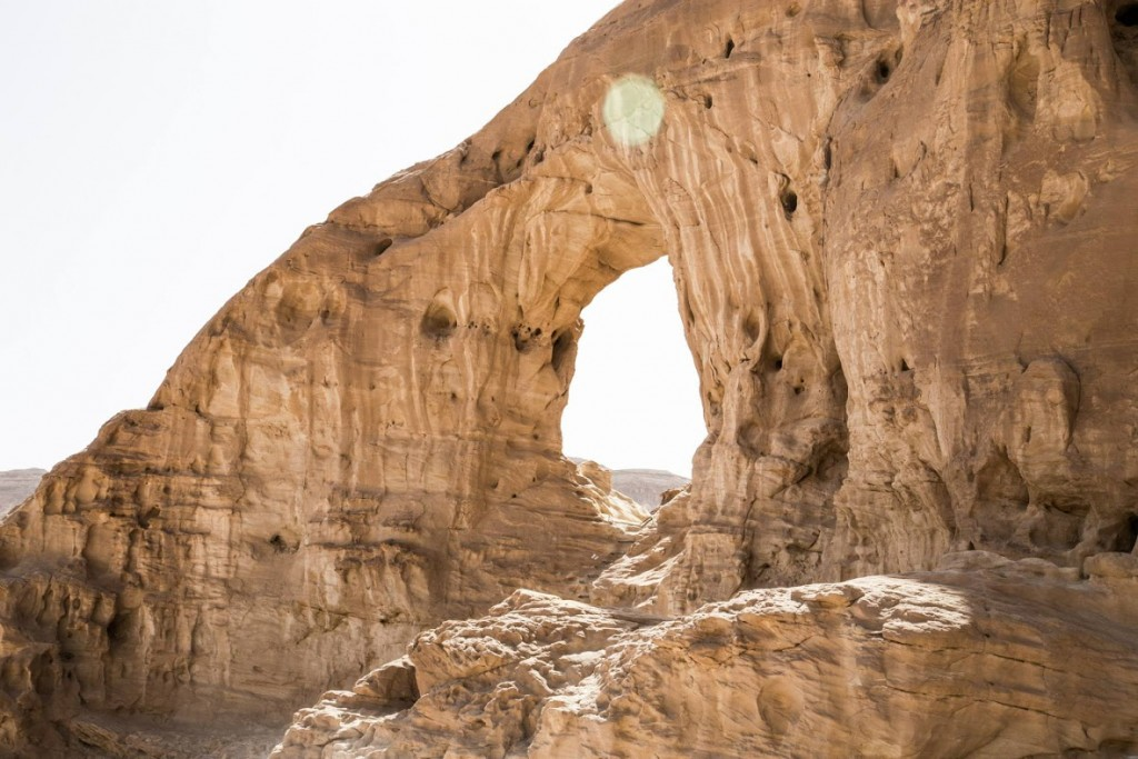 Timna Arches por Jonathan Goff