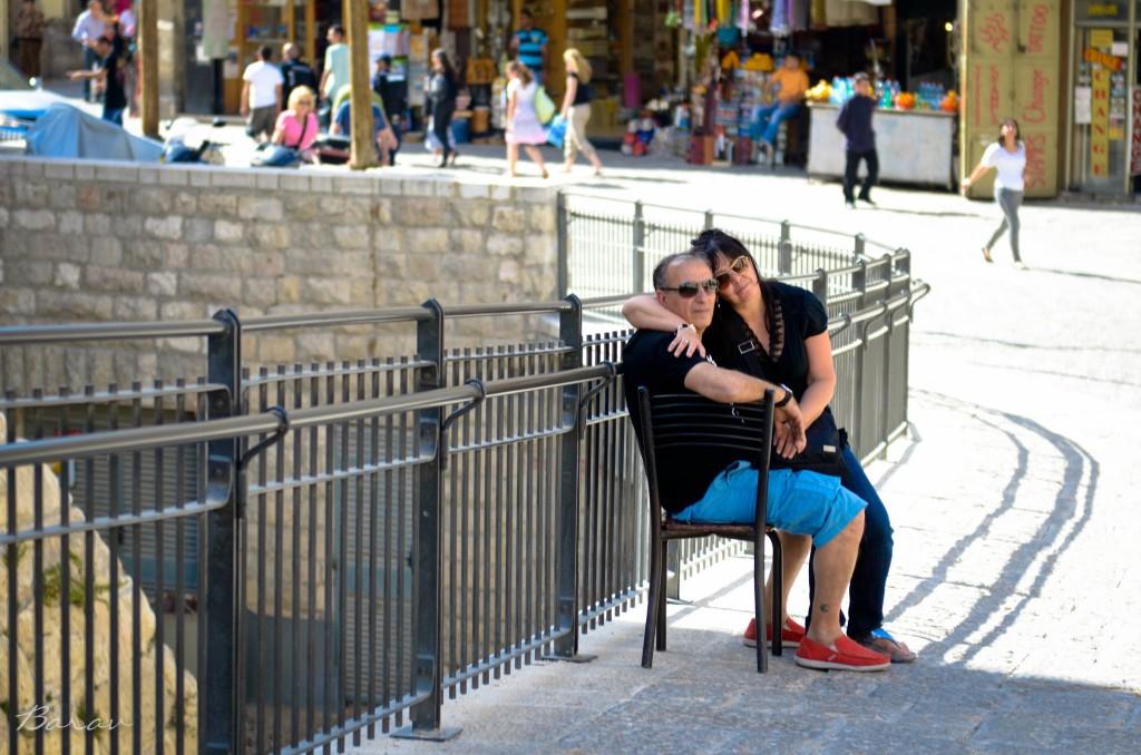 Love in the old city por Nir Barav