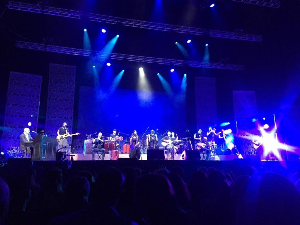 concierto azul