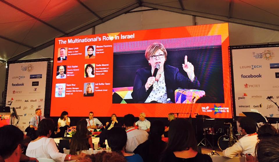 Panel de Multinacionales DLD Tel Aviv