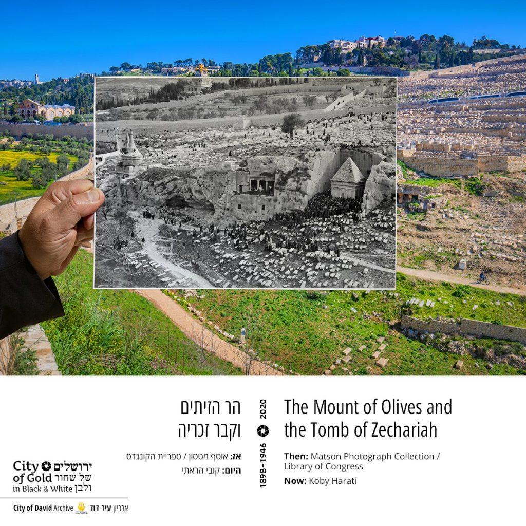 El Monte de Los Olivos y la Tumba de Zacarías