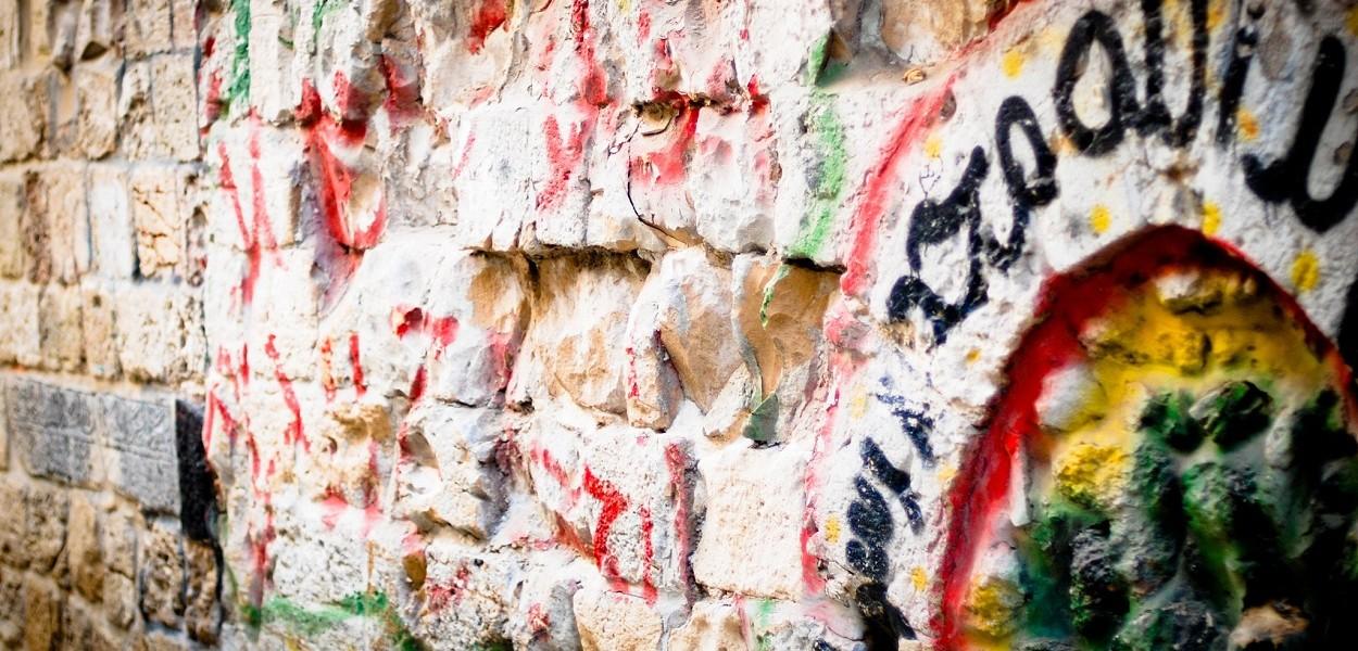 Graffitti, Jerusalén