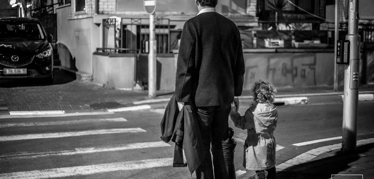 Crossing, Tel Aviv por Basti Hansen