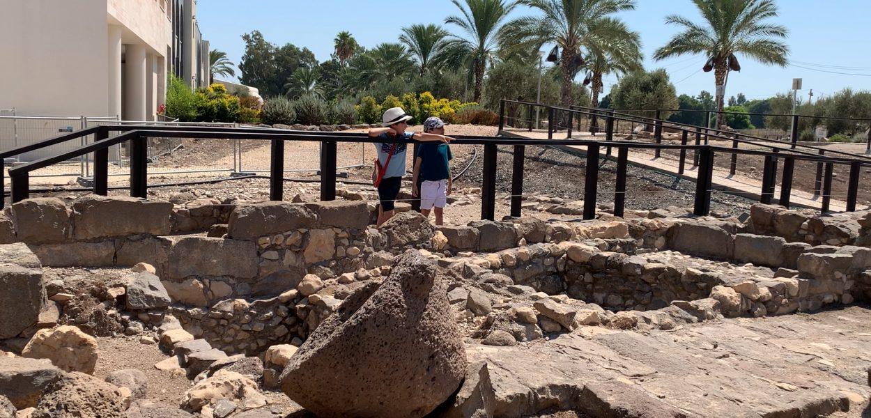 México en Israel: capítulo 2- La antigua sinagoga de Magdala